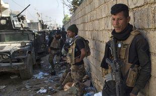 Des soldats des forces spéciales irakiennes dans Mossoul, le 11 novembre 2016.
