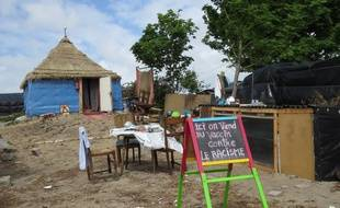 La maison d'Alpha, l'un des créateurs de l'école des Arts et des métiers du camp de Calais