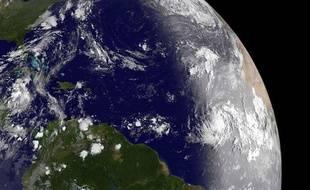 Vue de la Terre depuis l'espace le 30 août 2011.