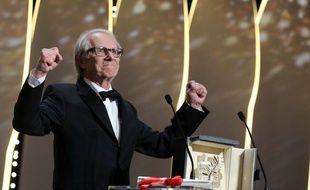 Le réalisateur Ken Loach a reçu la Palme d'or ce dimanche 22 mai 2016 à Cannes.