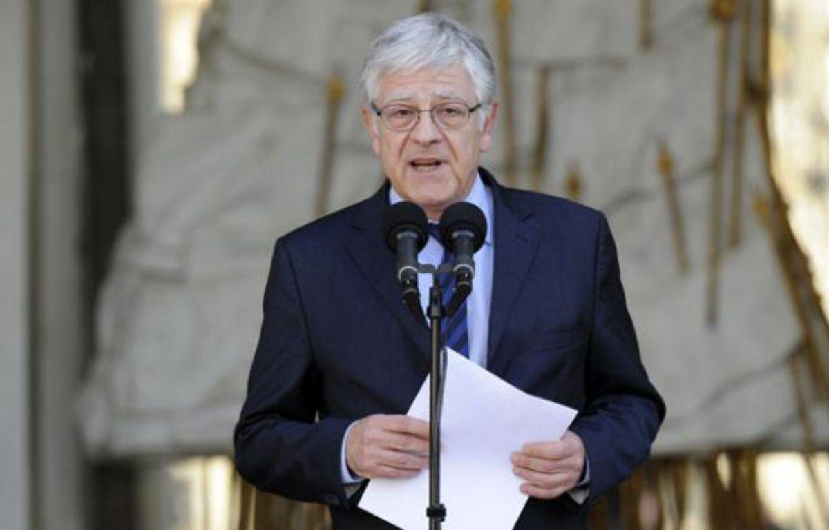 Pierre-René Lemas, le secrétaire général de l'Elysée, le 21 juin 2012. – AFP