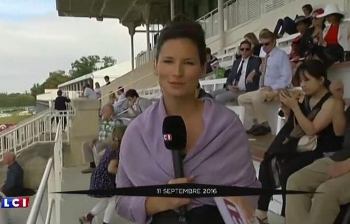 Marlène Seguin était reporter rédactrice depuis juillet 2014 sur LCI.  – Capture écran LCI