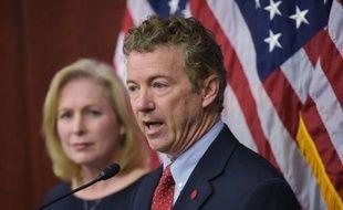 Rand Paul, sénateur républicain du Kentucky, le 10 mars 2015 au Capitole à Washington
