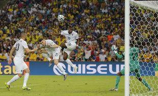 Paul Pogba, maladroit contre l'Equateur, le 25 juin 2014 au Maracana.