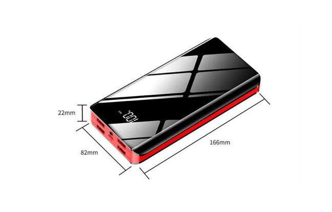 Batterie externe pour téléphone MINGJIA 30 000 mAh