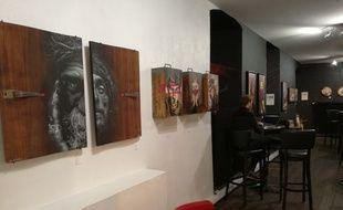 L'exposition Into the woods dure jusqu'au 15 janvier à la Popartiserie, en plein centre de Strasbourg.