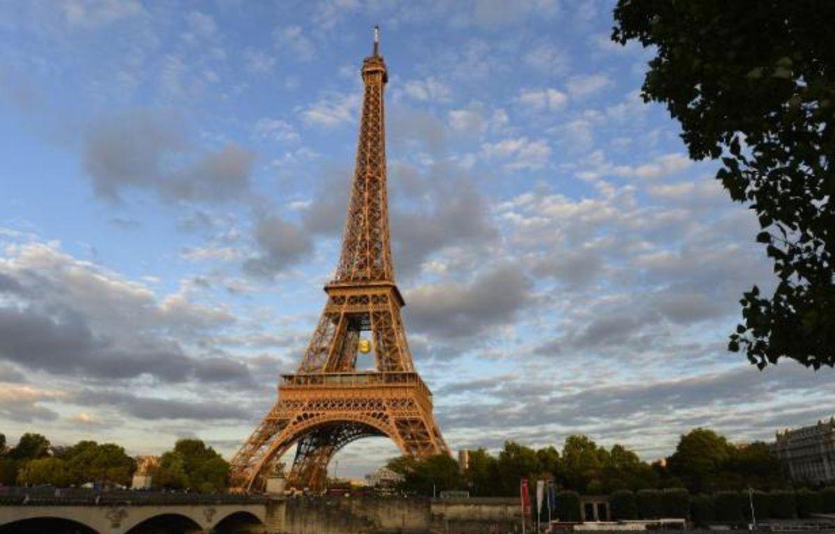 La Tour Eiffel, le 25 mai 2015 – Miguel Medina AFP