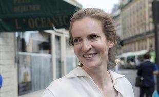 Nathalie Kosciusko-Morizet candidate aux élections législatives dans la 2e circonscription de Paris, le 12 juin 2017