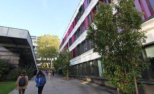Illustration du campus Villejean de l'université Rennes 2.