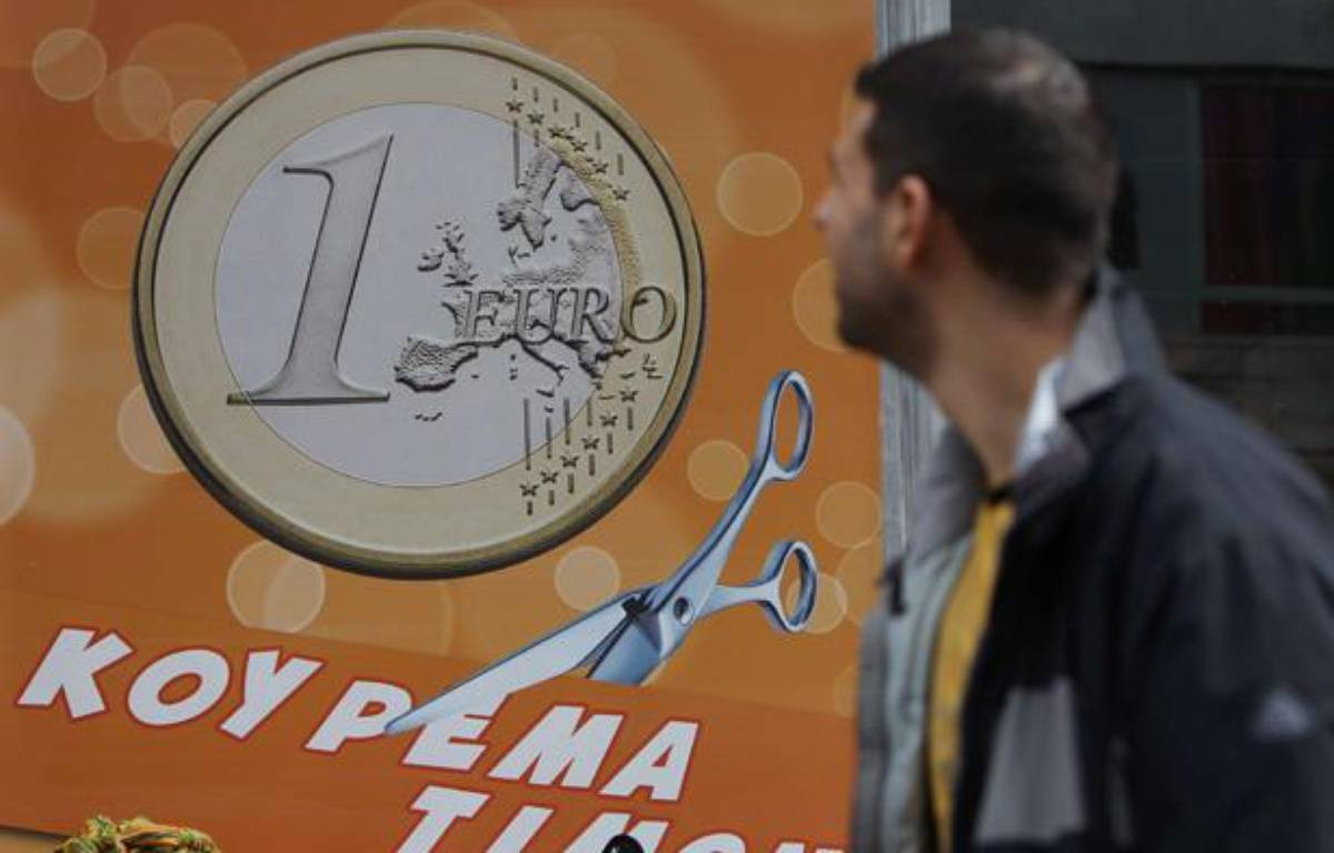 L'impasse politique en Grècea remis le scénario d'une sortie de la zone euro au coeur des inquiétudes. – Thanassis Stavrakis/AP/SIPA