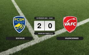 Ligue 2, 25ème journée: Sochaux bat le VAFC 2-0 à domicile