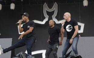 Le groupe IAM en concert à Paris, en juillet 2017.