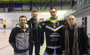 Le joueur est arrivé à Bordeaux en janvier.