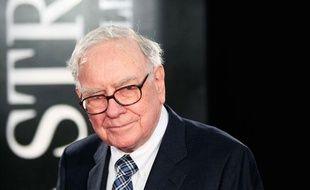 Warren Buffet arrive à New York pour la première du film WallStreet, le 20 septembre 2010