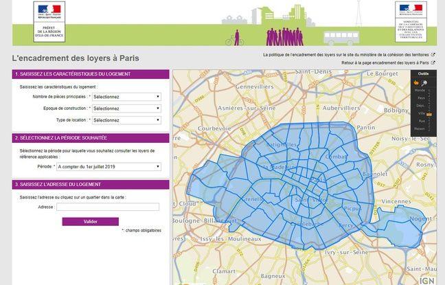 Depuis le 1er juillet 2019, l'encadrement des loyers est de nouveau en vigueur à Paris. Un site lancé par la préfecture d'Ile-de-France permet d'évaluer son loyer.
