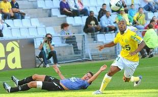 L'attaquant Sylvain Wiltor.