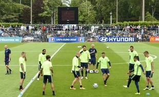 L'équipe de football de Suède s'était préparée à Saint-Nazaire pendant l'Euro 2016.