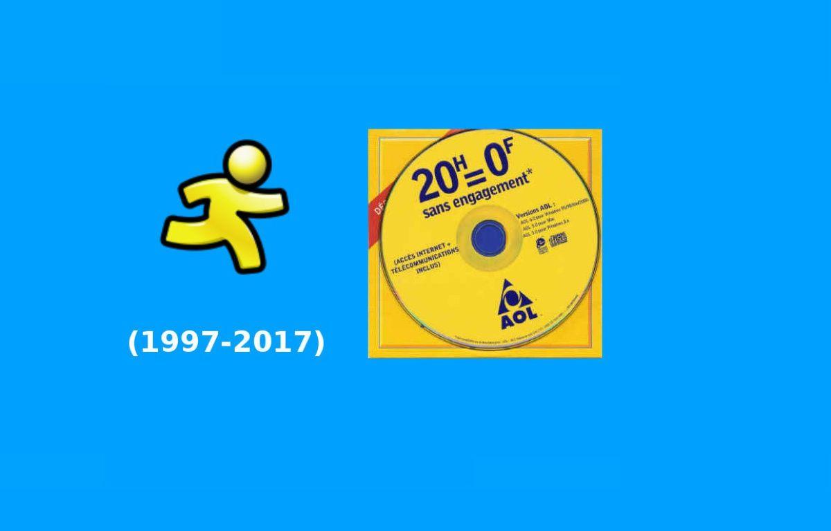 Lancé en 1997 par AOL, le service de messagerie instantanée AIM va fermer le 15 décembre 2017. – 20 MINUTES