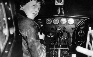 Amelia Earhart a disparu dans le Pacifique en 1937.