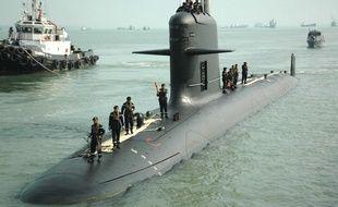 Un sous-marin Scorpène. (Illustration)