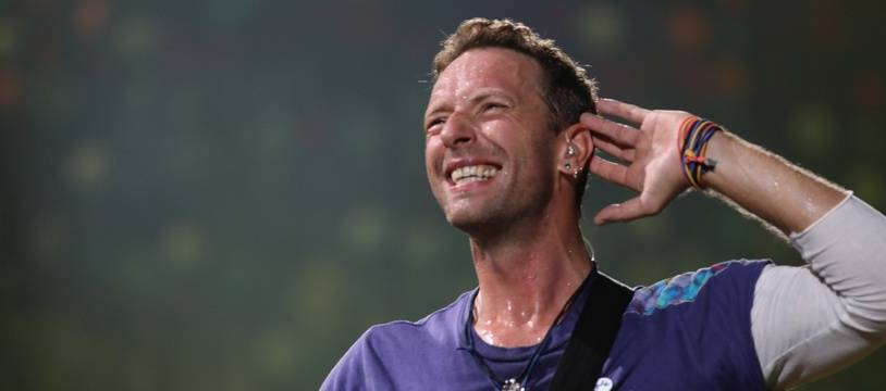 Le chanteur de Coldplay, Chris Martin