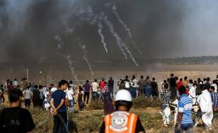 Les manifestations sont très nombreuses dans la bande de Gaza depuis le 30 mars.