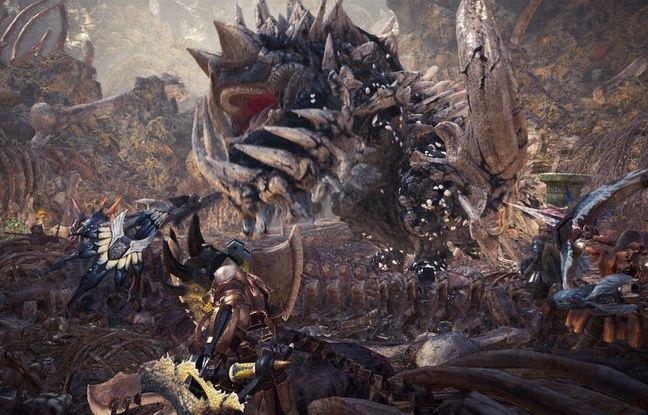 Jeu d'action, Monster Hunter: World nécessite bien des réglages et recherches avant de pouvoir se lancer sur la piste d'un monstre.