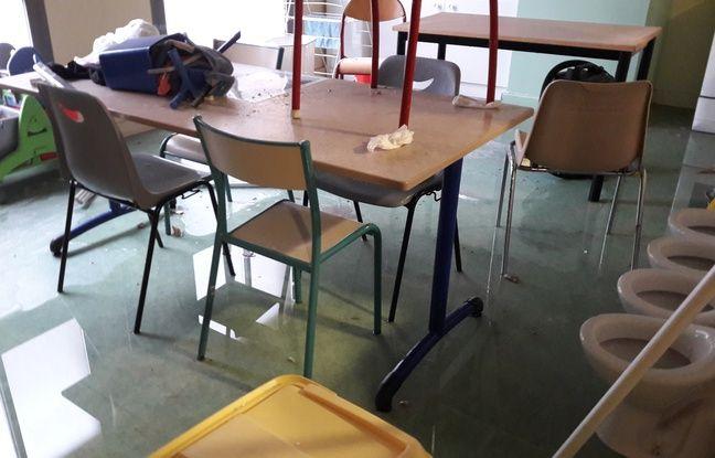 L'école de Saint-Vincent-de-Paul à Marseille.