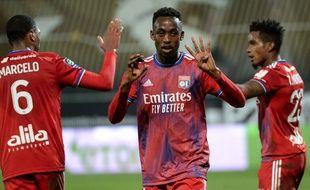 Tino Kadewere a inscrit le seul but du match à Angers ce dimanche. JEAN-FRANCOIS MONIER