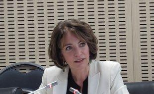 La ministre des Affaires sociales, de la Santé et des Droits des femmes, Marisol Touraine, le 2 mars 2015.