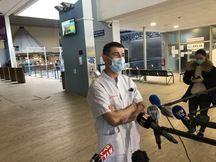 Laurent Petit, responsable de l'unité de réanimation chirurgicale au CHU de Bordeaux.