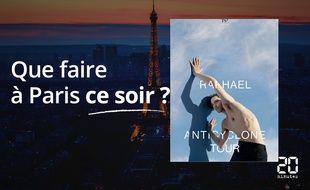 Raphaël sera ce soir au Casino de Paris.