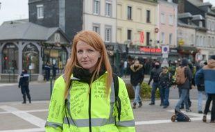 Ingrid Levavasseur, le 15 janvier 2019 à Grand Bourgtheroulde.