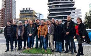 Les membres des listes citoyennes « Les Communes en Commun ».