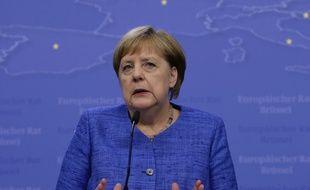 Angela Merkel le 21 juin 2019 à Bruxelles