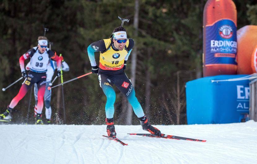 Biathlon: Fourcade et QFM sont trop forts... Nouveau doublé pour la France du biathlon... Revivez la poursuite de Ruhpolding...