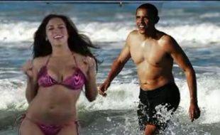 Amber Lee Ettinger dans le clip «I got a crush on Obama»