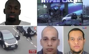 Illustration des attentats de janvier 2015, à Paris.