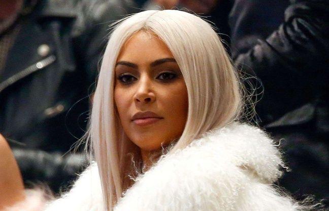 Kim Kardashian au Yeezy Show de son mari Kanye West à New York le 11 février 2016