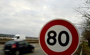 L'automobiliste, unrécidiviste, roulait à 117 km/h sur une route départementale. Illustration.