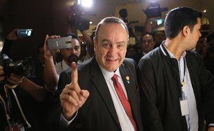 Alejandro Giammattei, nouveau Président du Guatemala, le 11 août 2019.