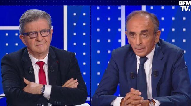Audiences TV : Le débat Mélenchon-Zemmour sur BFMTV lamine la première d'« Elysée 2022 » sur France 2