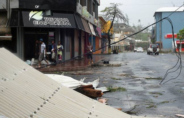 Les dégâts du cyclone Pam dans la capitale du Vanuatu, Port Vila, le 14 mars 2015. - UNICEF Pacific / AFP