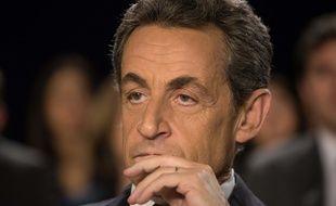 Nicolas Sarkozy, le 9 mars 2015 à Saint-Maur des-Fossés.