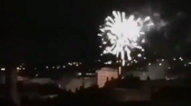 Un nouveau feu d'artifice sauvage tiré en pleine nuit à Lyon