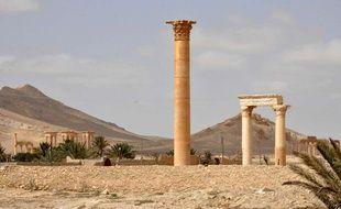 Photo de la cité antique de Palmyre en Syrie, publiée le 27 mars par l'agence Sana.