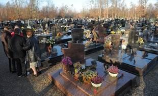 Le cimetière de Schirrhein dans le Bas-Rhin. (Archives)