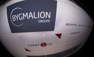 Le site de la société événementielle Bygmalion