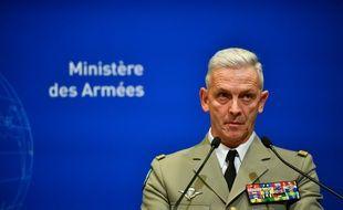 Le chef d'Etat-major des Armées François Lecointre, le 26 novembre 2019 à Paris.