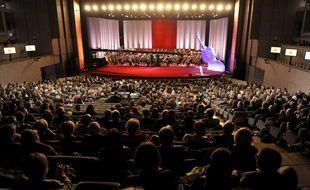 Un concert au Corum de Montpellier (illustration)